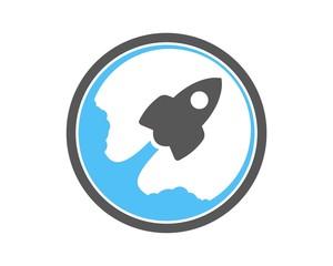 rocket logo v.1