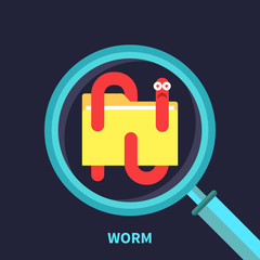 Computer worm, virus detection, quarantine