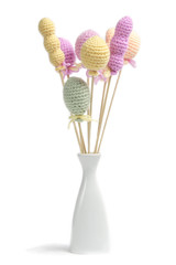 balloons made from yarn