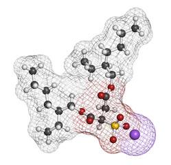 Docusate sodium (dioctyl sodium sulfosuccinate) stool softener