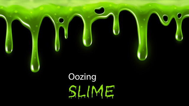 Oozing slime seamlessly repeatable