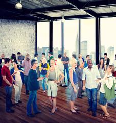 People Global Communication Discussion Conversation Concept