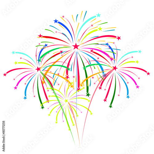 quot fireworks vector on white background quot  stock image and happy fourth of july fireworks clipart fourth of july fireworks clipart