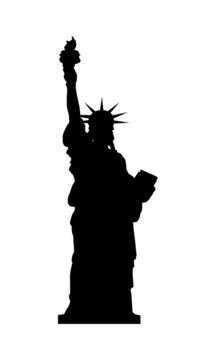 Freiheitsstatue Statue of Liberty USA Landmark Icon