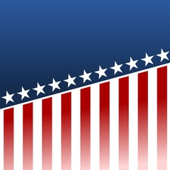 USA Flag - Illustration