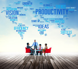 Productivity Vision Idea Efficiency Growth Success Concept