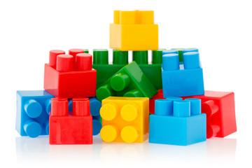 Bright color building blocks