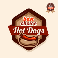 hot dogs emblem