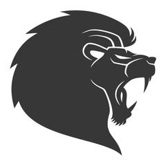 Vector sign. Lions.