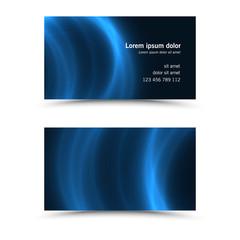 Modern business card template..