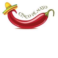 Cinco De Mayo jalapeno background