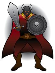 Caped Warrior
