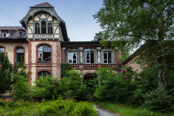 Papiers peints Ancien hôpital Beelitz Beelitz Heilstätten