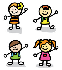 Happy Funny Kids Group