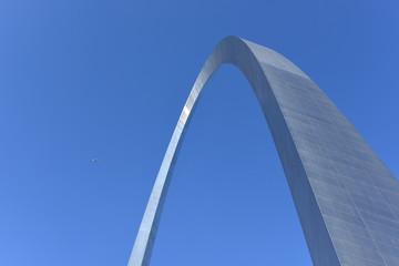 Fototapete - Saint Louis Gateway Arch