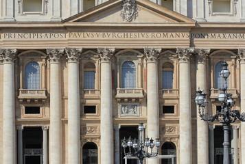 Basilica di San Pietro, Vatican, Rome, Italy ( March 12, 2015 )