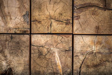 Natural wood texture with grain