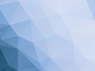 modern blue and white triangular background