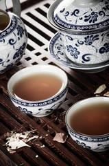 Vintage tea still life