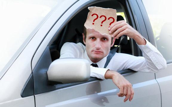 Annoyed driver