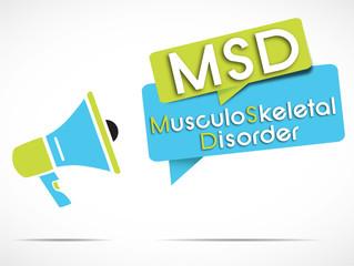megaphone : MSD