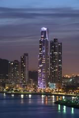 City skyline at Panama City, Panama, Central America