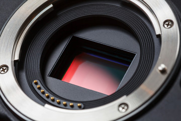 Digital Camera Sensor and Lens Mount