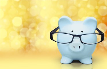Pig. Nerdy piggybank