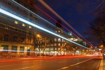 Madrid bei Nacht