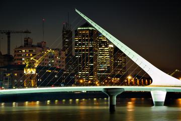 Puerto Madero, Puente de la Mujer Buenos Aires