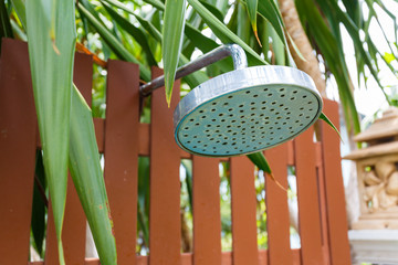 Shower head with nature