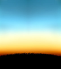 nature gradient background