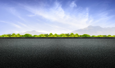 road abstract background