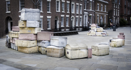 Hope Street 'Suitcases', Liverpool