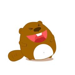 Beaver isolated