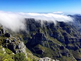 Wundervolle Aussicht vom Tafelberg, Südafrika
