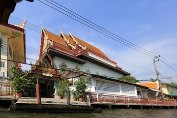 BANGKOK, THAILAND - December 15, 2014: boating on the Chao Phray