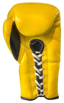 Yellow boxing glove
