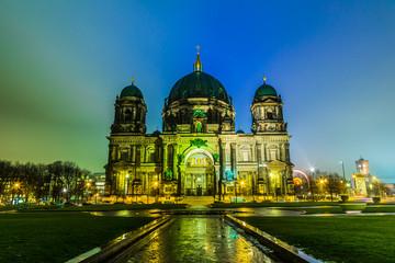 Fotorolgordijn Berlijn Berliner Dom, is the colloquial name for the Supreme Parish
