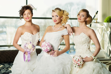 Three brides