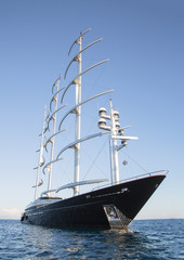 Luxuriöse Segelyacht