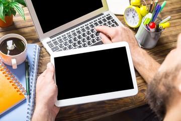 Laptop. Digital Online Internet Browsing Development Diversity