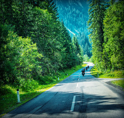 Wall Mural - Motorbikes race