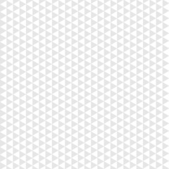 Seamless pattern gray triangle on white background. Vector
