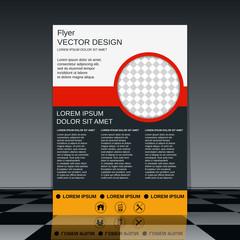 Booklet vector design