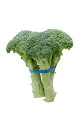 Side view of fresh broccoli
