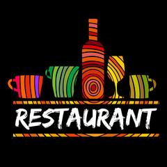 Logo Restaurant Crafts Black