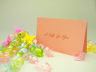 Massage Card; A Gift for You