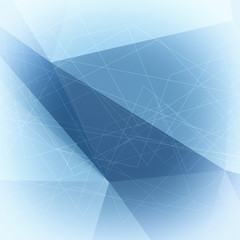 Abstract low poly geometric background