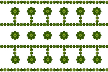 Pattern a create from leaf